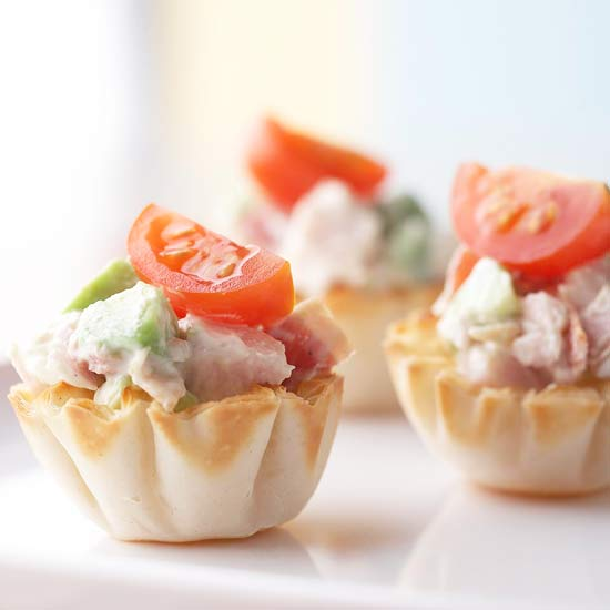 Turkey Salad Tartlets