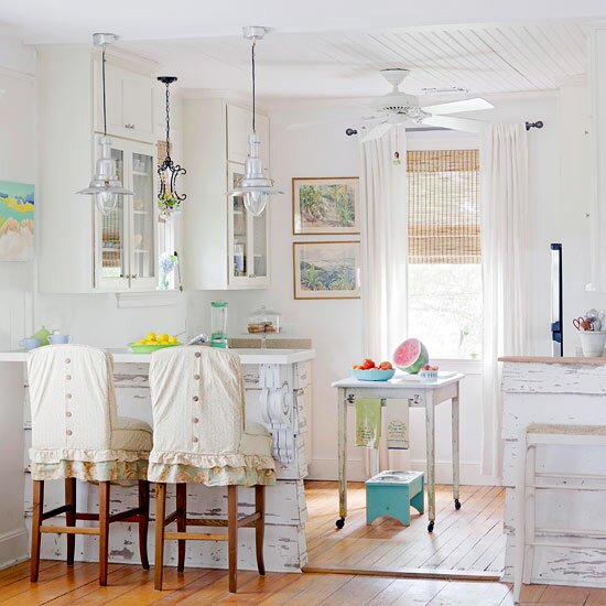 Create a Cottage-Style Kitchen