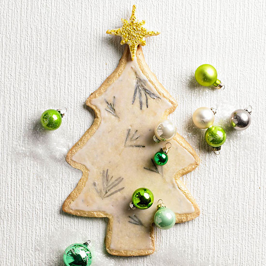 Rosemary-Scented Evergreen Cookies