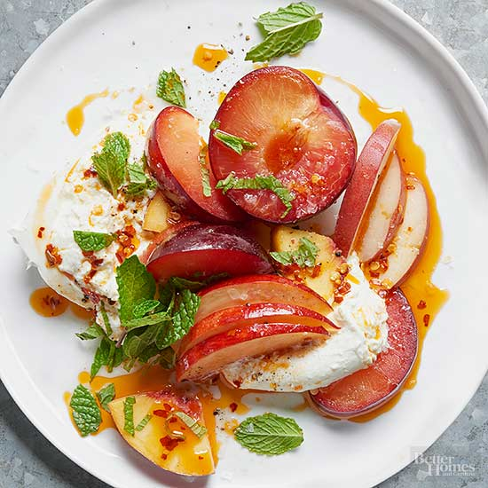 Burrata & Stone Fruit