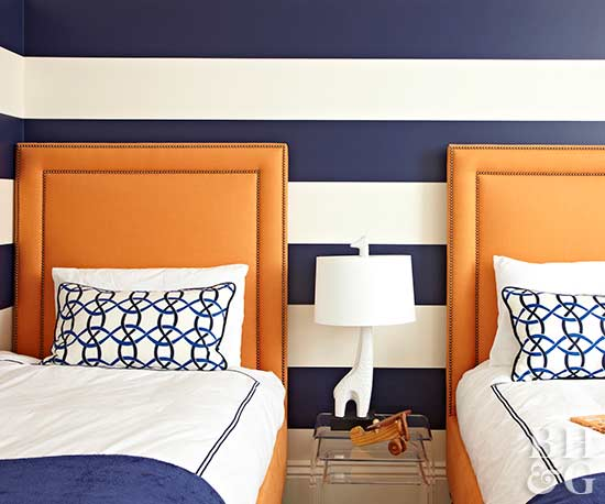 Twin Beds with Standout Features