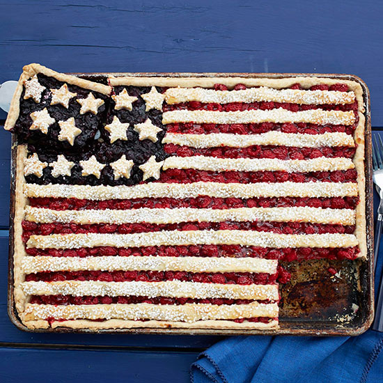 Berry Flag Tart