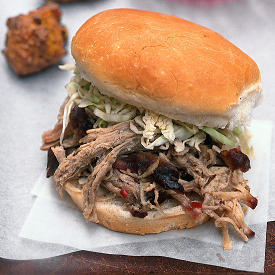 North Carolina-Style Pulled Pork with Lexington-Style Vinegar Sauce