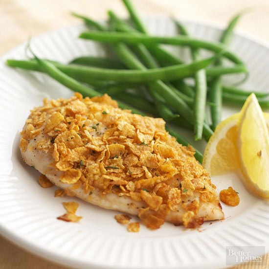 Honey-Ginger Crusted Chicken