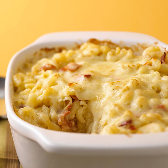Macaroni and Cheese with Caramelized Onions