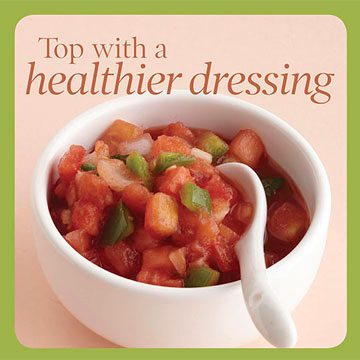 Salad Topper Tip 5: Make Your Own Dressing