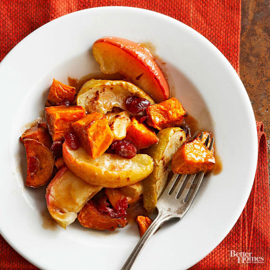 Apple-Buttered Sweet Potatoes
