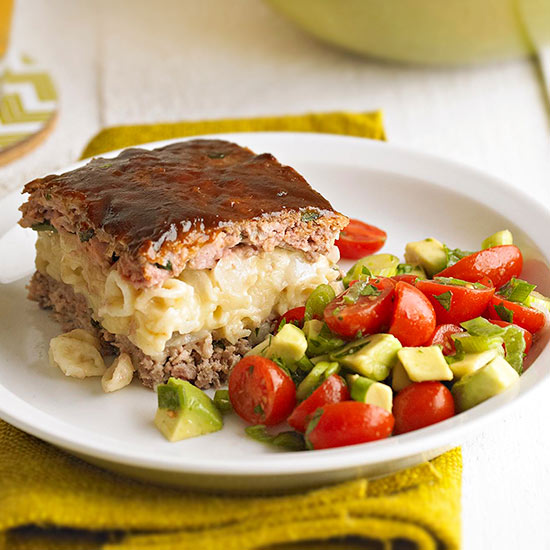 Macaroni and Cheese Meat Loaf