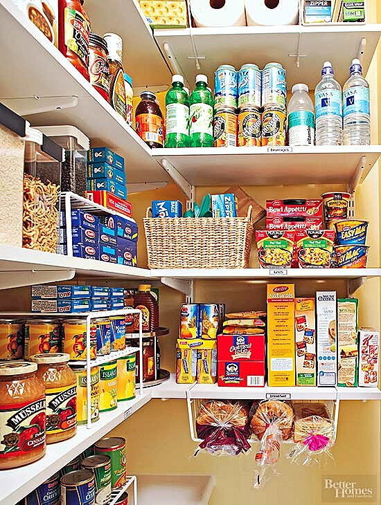 Fabulous Zoning Is The Best Way To Organize Your Pantry Download Free Architecture Designs Ferenbritishbridgeorg