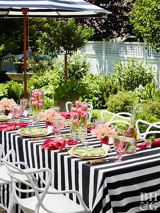 Tulip Party table