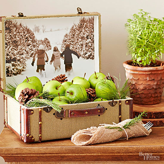 Suitcase Photo Display