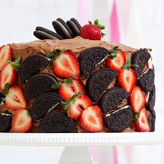 Berries & Cookies Cake