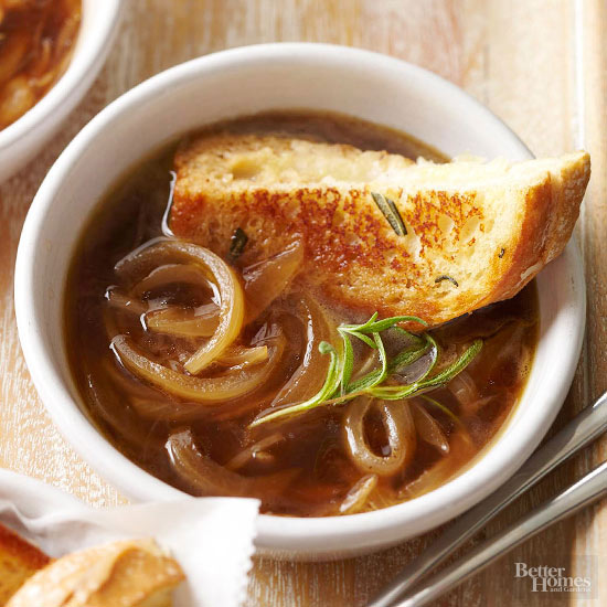 Rosemary French Onion Soup