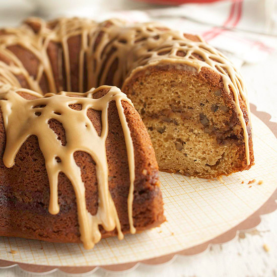 Pecan Browned Butter Coffee Cake