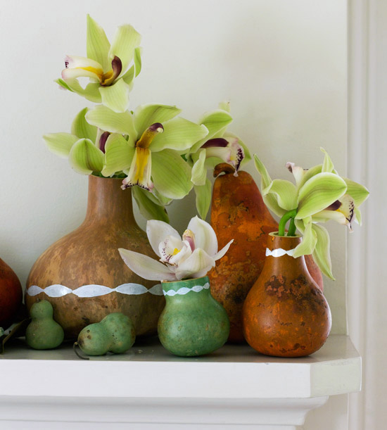 Creative Fall Vases