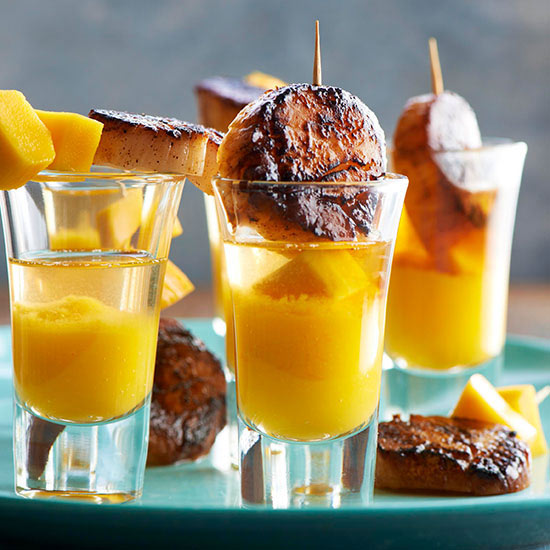 Seared Scallop-Tequila Shooters