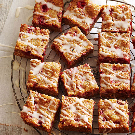 Cherry-Crumb Bars