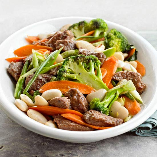 Beef and Bean Stir-Fry