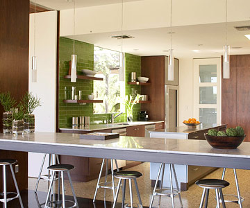 Modern, Open Kitchen