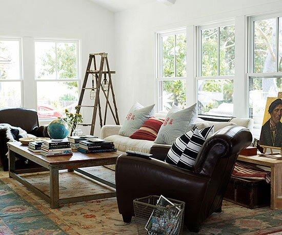 How to Mix Vintage and Modern