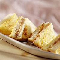 Pear-Chicken Monte Cristo Sandwich