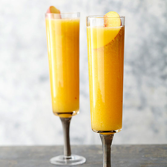 Ginger-Peach Bellini