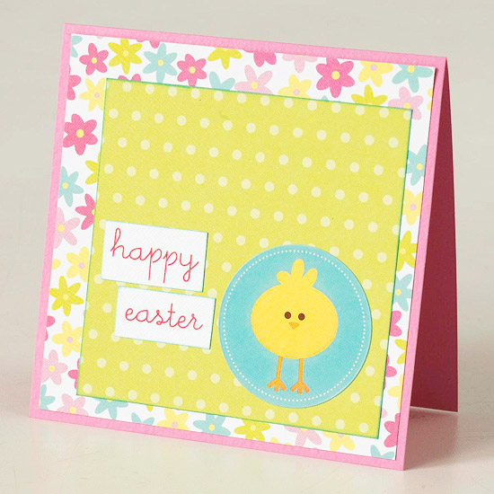 Chick Happy Easter Card