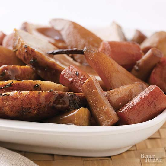 Pork with Parsnips and Pears