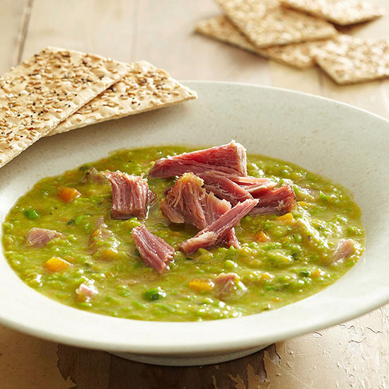 Two-Pea Soup with Pork