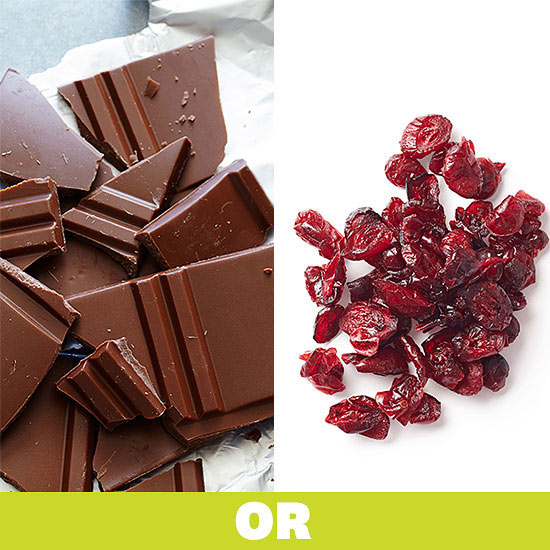 Chocolate or Cranberries?