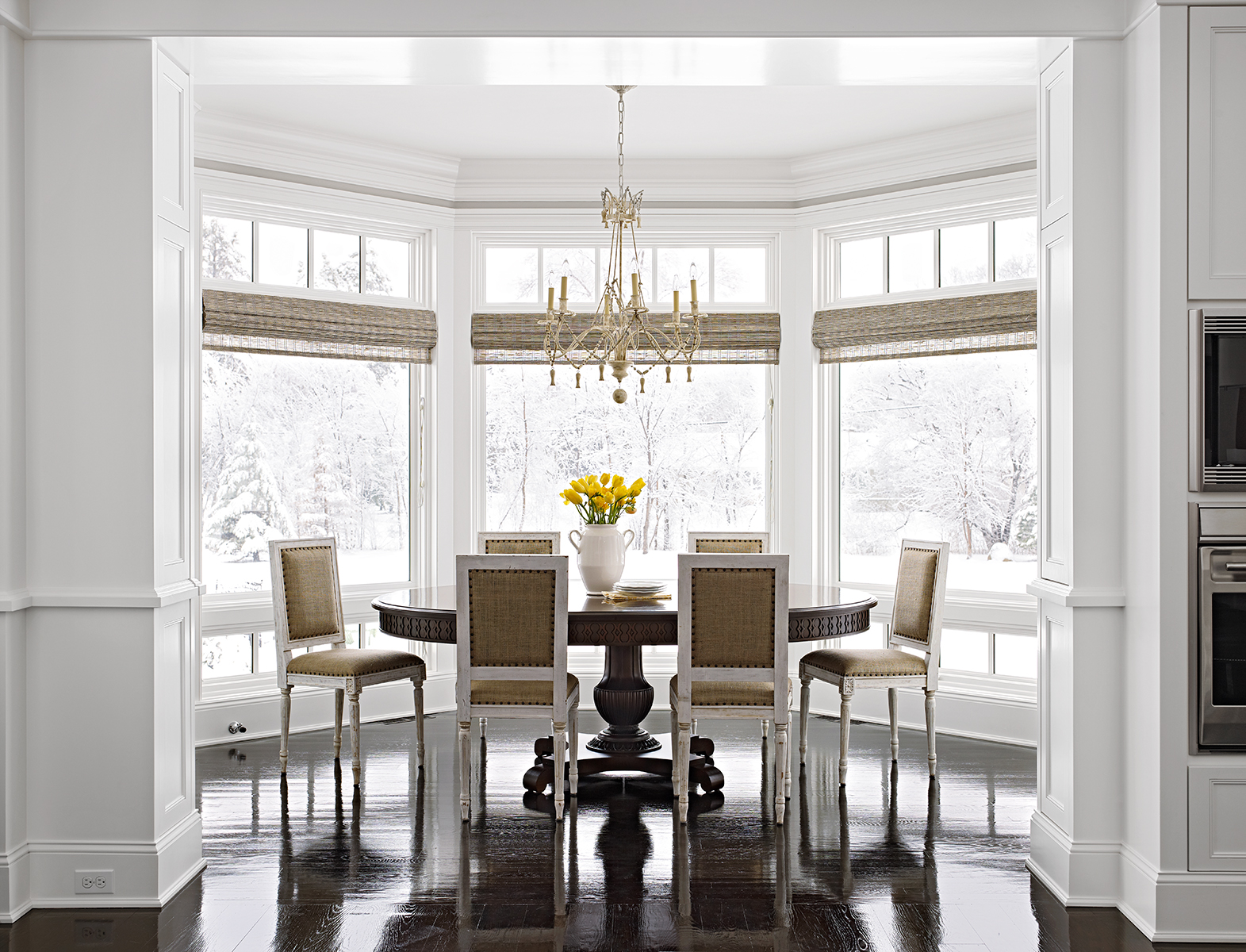 Bay And Bow Window Treatment Ideas Better Homes Gardens