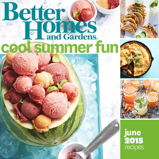june 2015 recipes better homes and gardens Designed Images