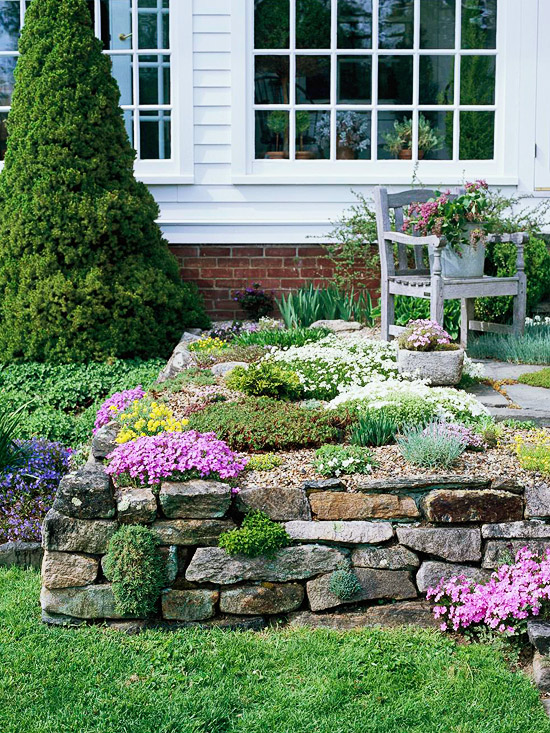 Rock Garden Design Ideas Better Homes Gardens