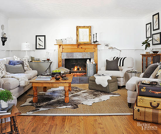 Before and After Fireplaces