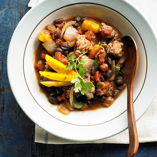 Caribbean Chili with Black Beans