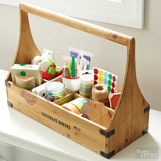 Personalizing Crafts Caddy