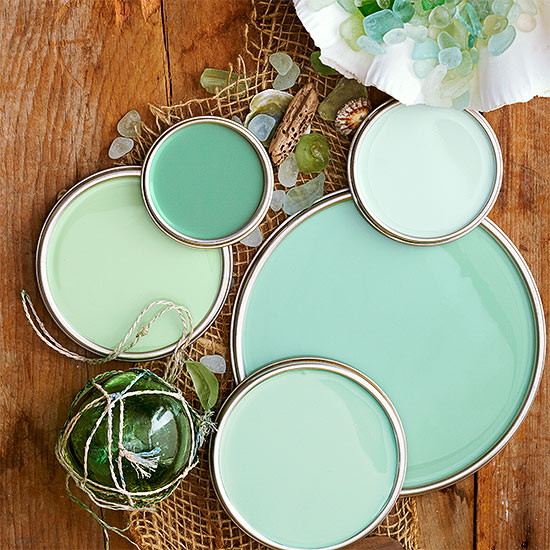 Sea Glass Green Paint Colors