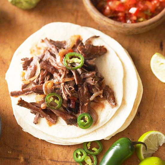 Cranberry-Chipotle Beef