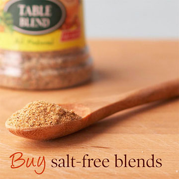 Buy salt-free blends
