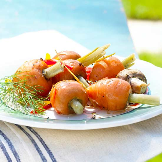 Marinated Dill Carrots