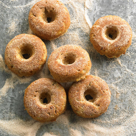 Baked Apple-Spice Doughnuts