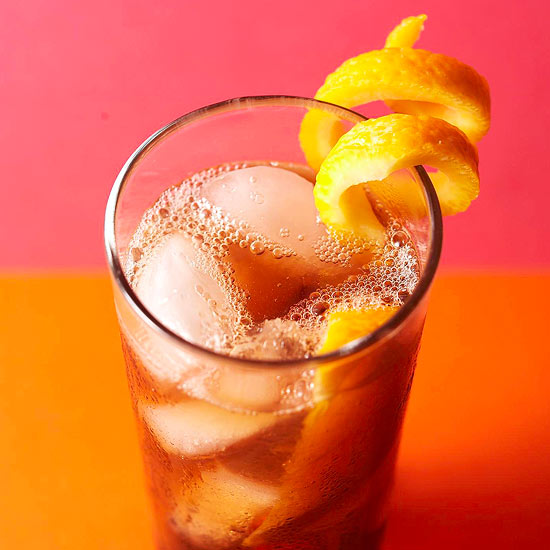 Twisted rum and diet cola