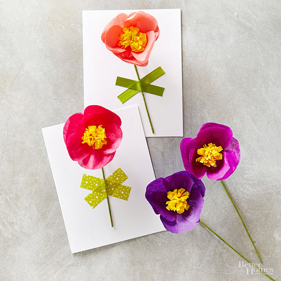 Pretty Paper Poppies