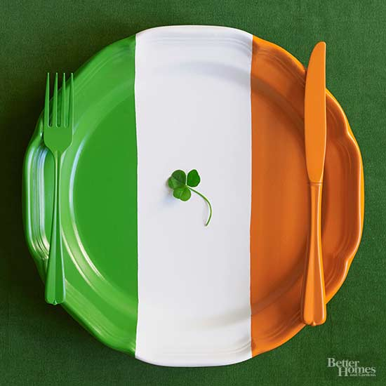 Irish-Inspired Dinnerware