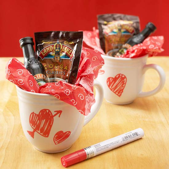 Hot Chocolate Date with Personalized Mugs