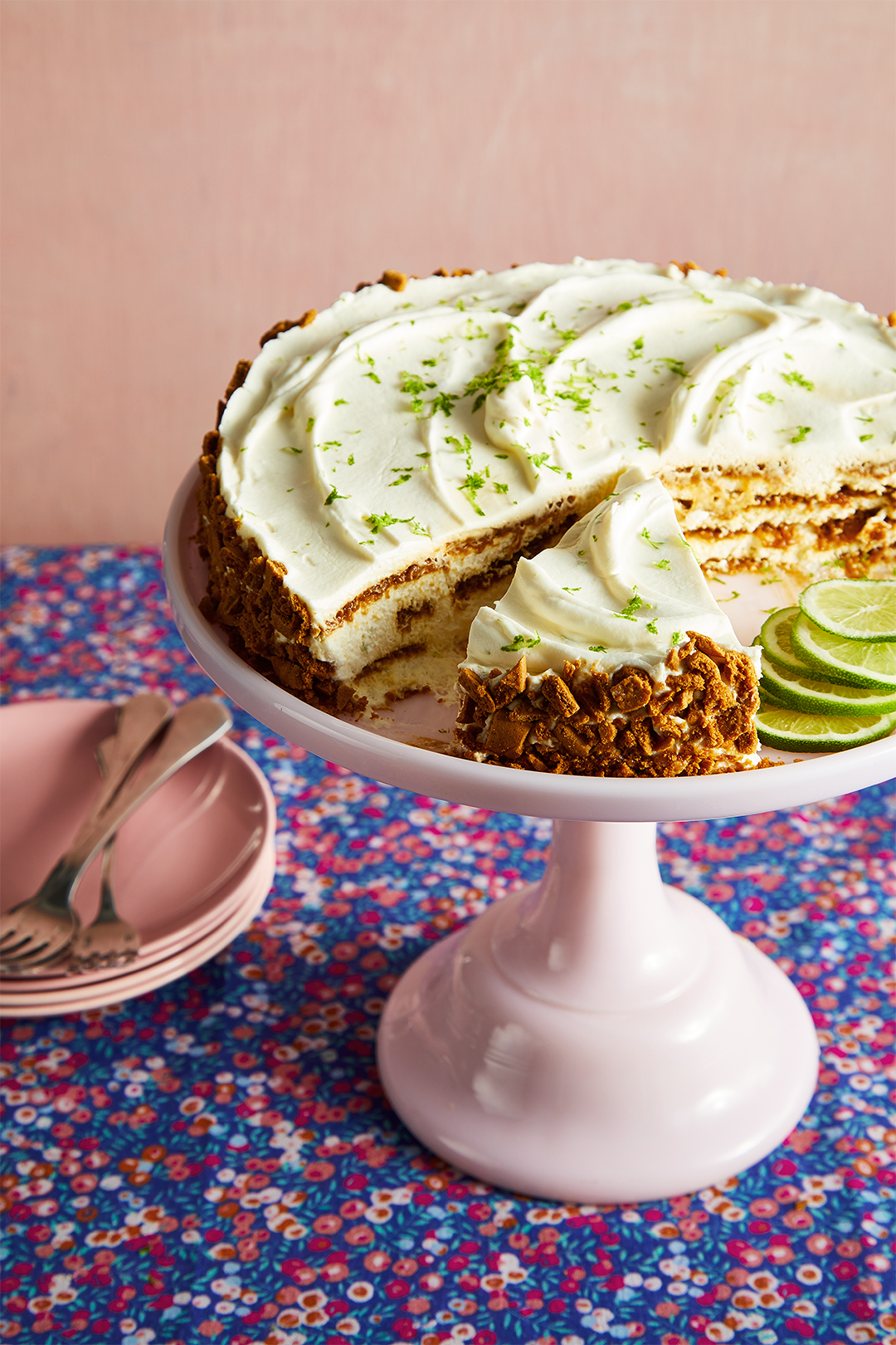 Ginger-Lime Icebox Cheesecake