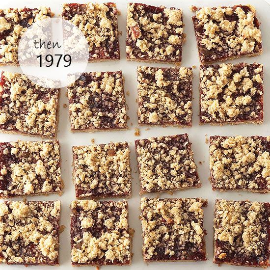 Then: Oatmeal Jam Bars