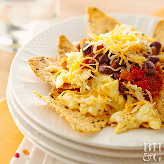 No-Guilt Breakfast Nachos