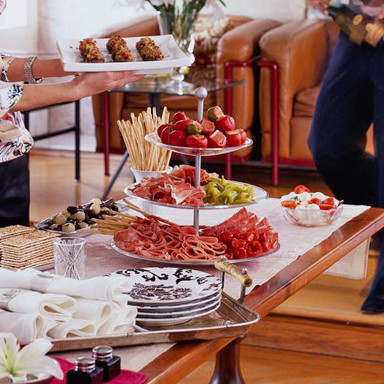 How To Choose Appetizers For A Dinner Party Better Homes Gardens