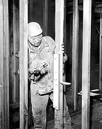 Man Working Construction